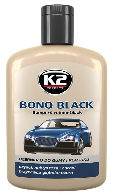 K2 BONO BLACK 200 ml - pasta na vnější plasty, K030