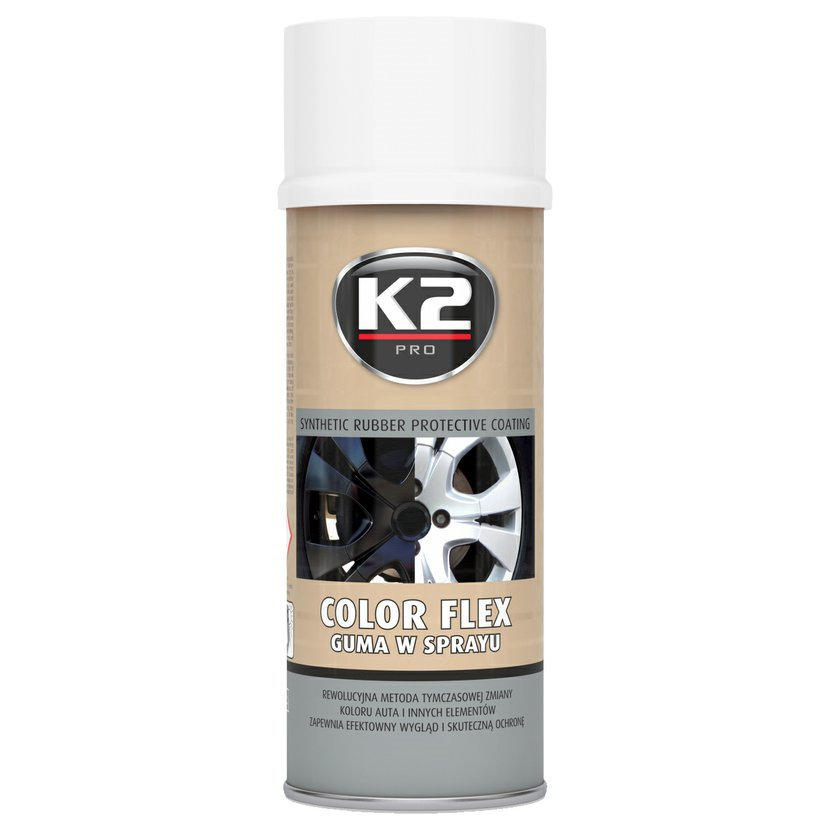 K2 COLOR FLEX 400ml BÍLÁ - ochranný natěr ze syntetického kaučuku 400ml, L343BI