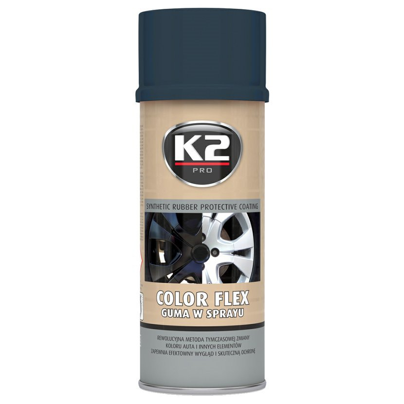 K2 COLOR FLEX 400ml KARBONOVÁ - ochranný natěr ze syntetického kaučuku 400ml, L343CR