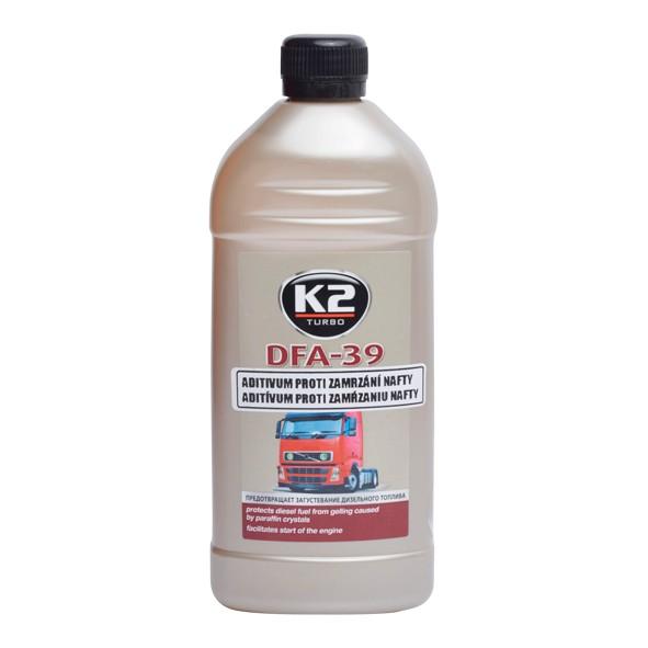 K2 DFA-39 DIESEL 500 ml - přípravek proti zamrzání palivové soustavy , T300