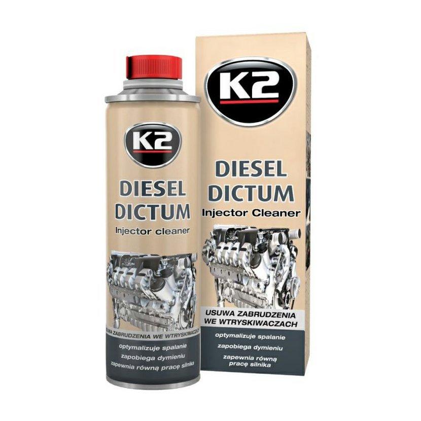K2 DIESEL DICTUM 500 ml - čistič vstřikovacího systému, W325