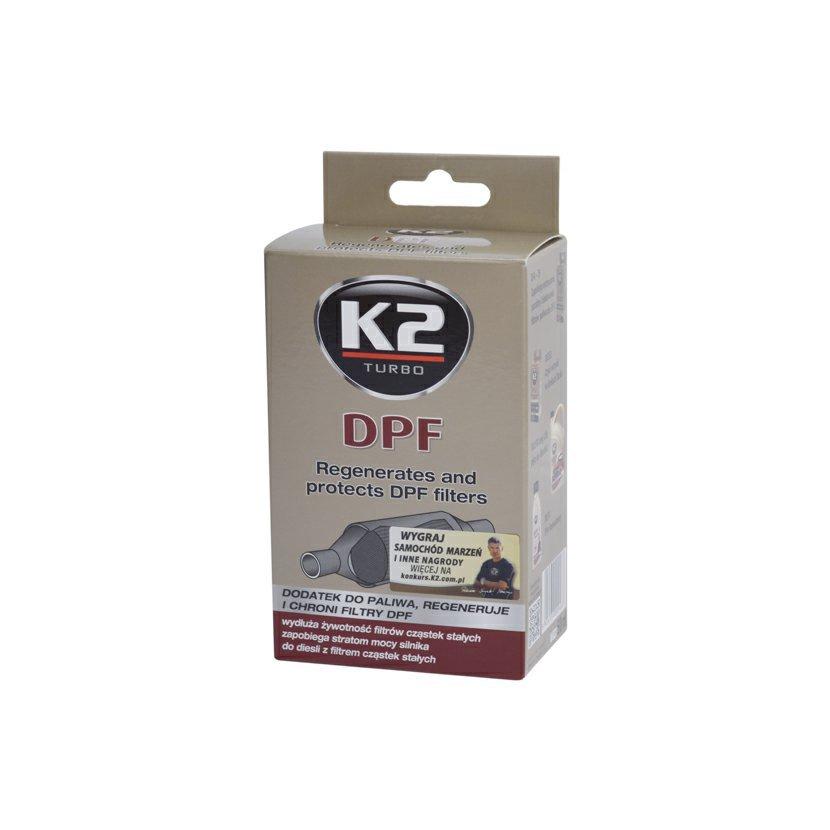 K2 DPF 50ml - přídavek do paliva, regeneruje a chrání filtry, T316