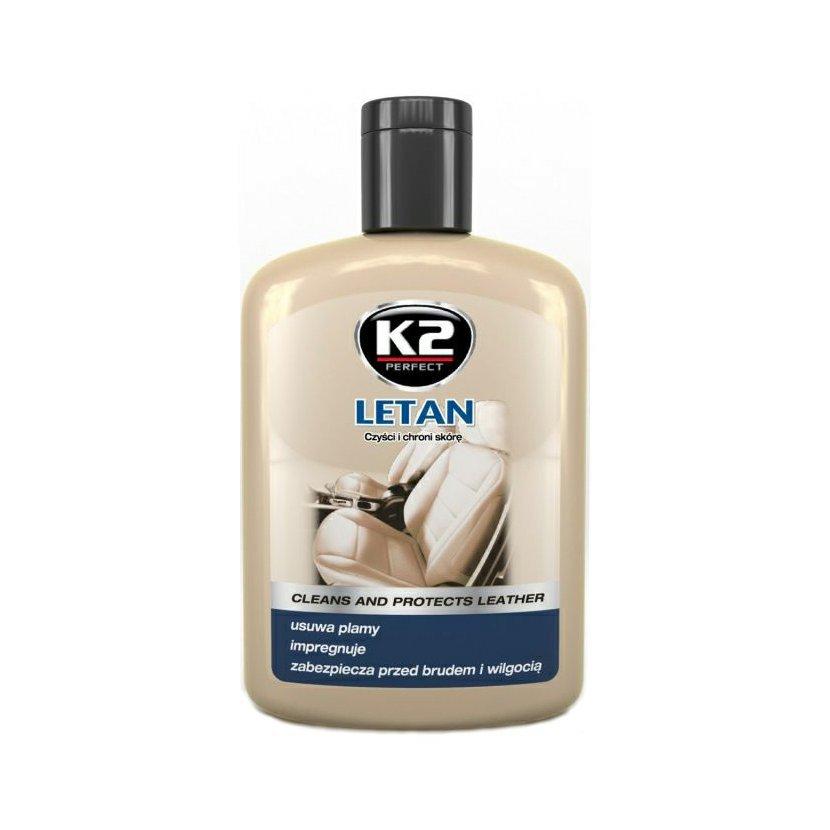 K2 LETAN 200 ml - prostředek k čištění a ochraně kůže, K202