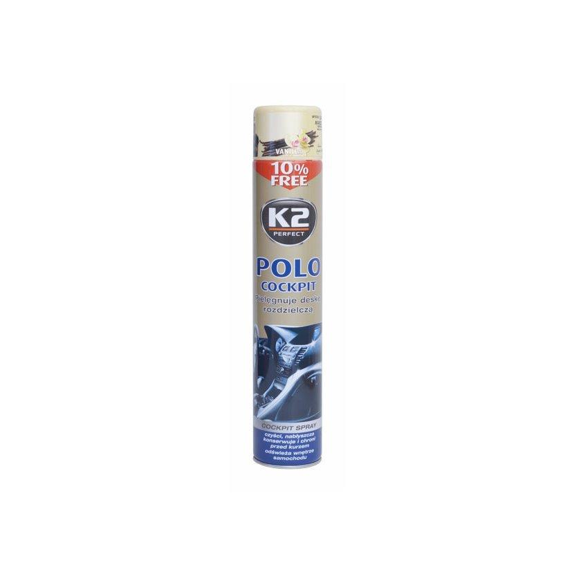 K2 POLO COCKPIT 750 ml VANILLA - ochrana vnitřních plastů, K407WAO