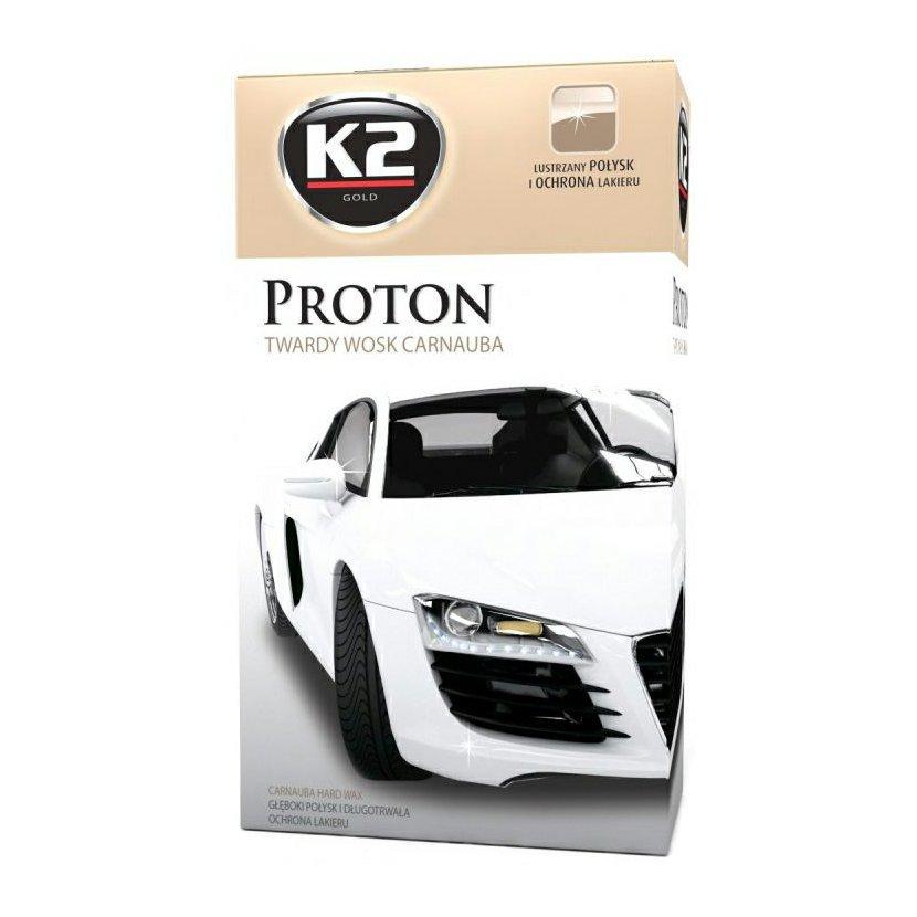 K2 PROTON 200 g - tvrdý vosk karnauba, G040