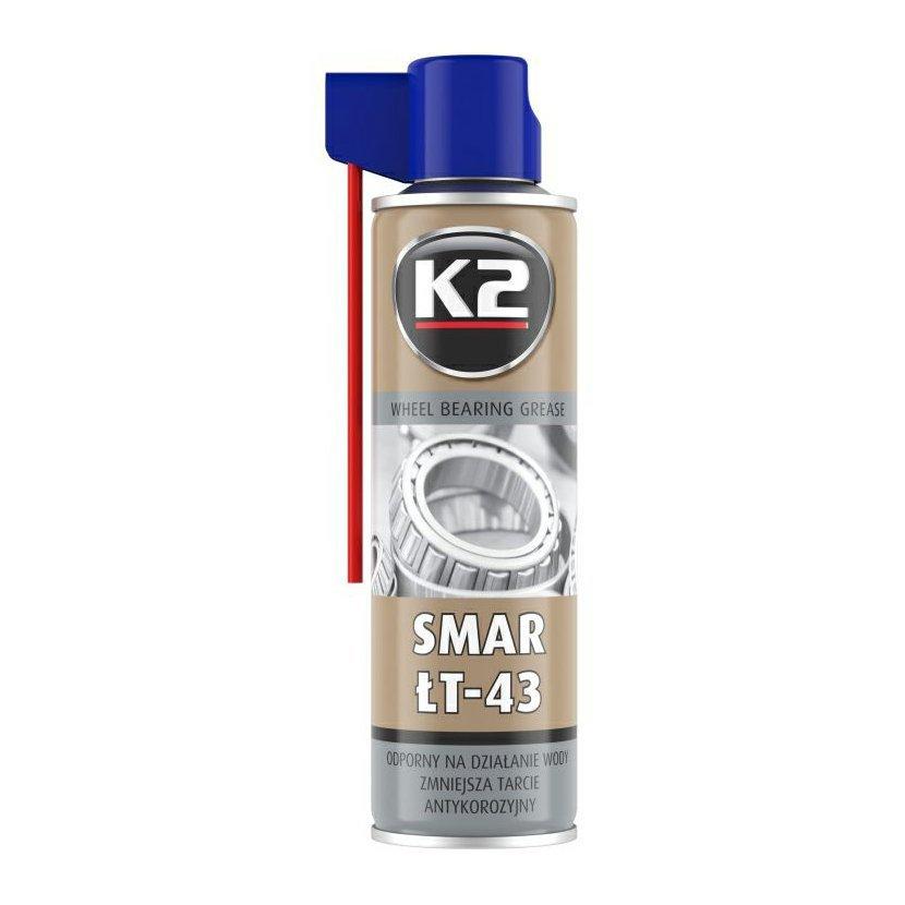 K2 SMAR ŁT-43 400 ml - mazivo na ložiska, W135