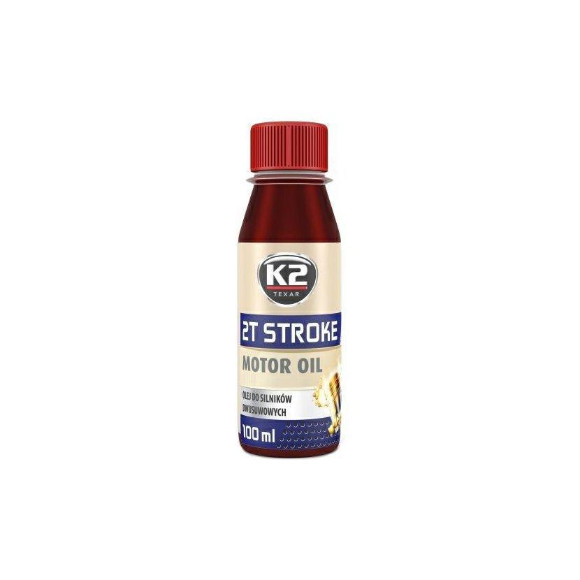 K2 TEXAR 2T STROKE 100 ml ČERVENÁ - motorový olej polosyntetický