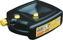 Kanystr plastový na vyjetý olej, 6L