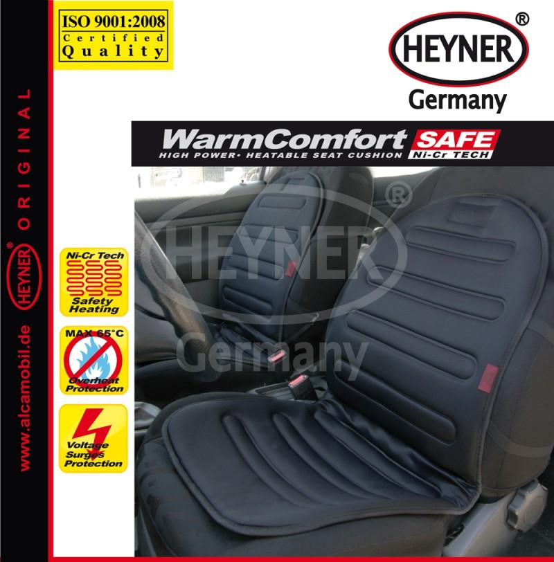 Potah sedadla (podložka) vyhřívaný černý 12V, 504000