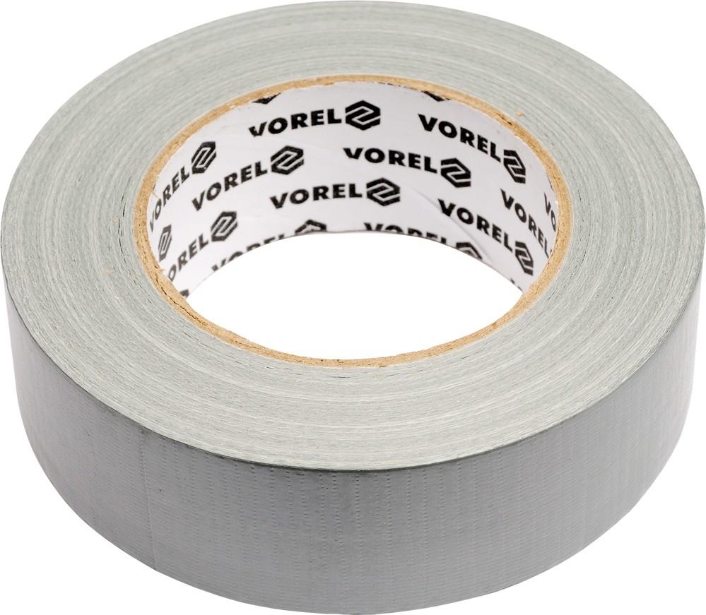 Páska samolepící textilní DUCT, 48 mm x 50 m, VOREL