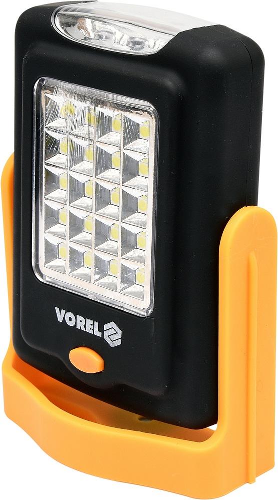 Svítilna otočná 20+3 LED, VOREL