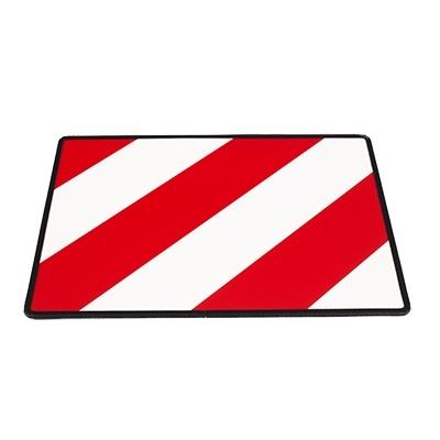 Výstražná tabule 40x30cm (s rámečkem) nadrozměrný náklad levá, TWY016(L)/R