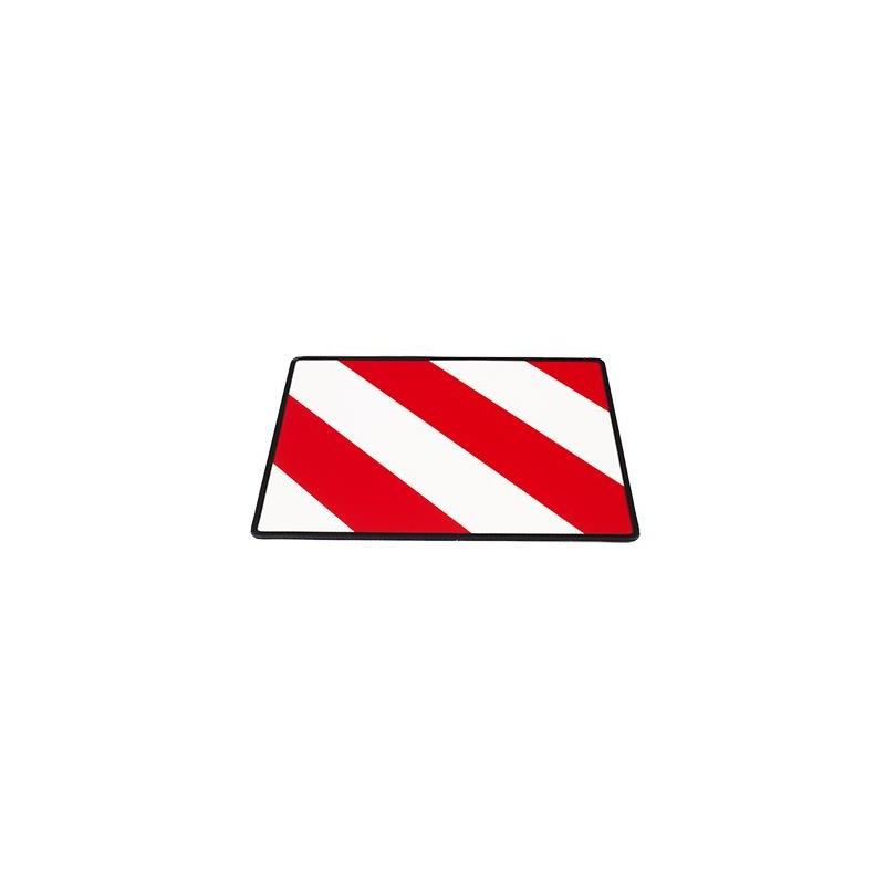 Výstražná tabule 40x30cm (s rámečkem) nadrozměrný náklad pravá, TWY016(P)/R