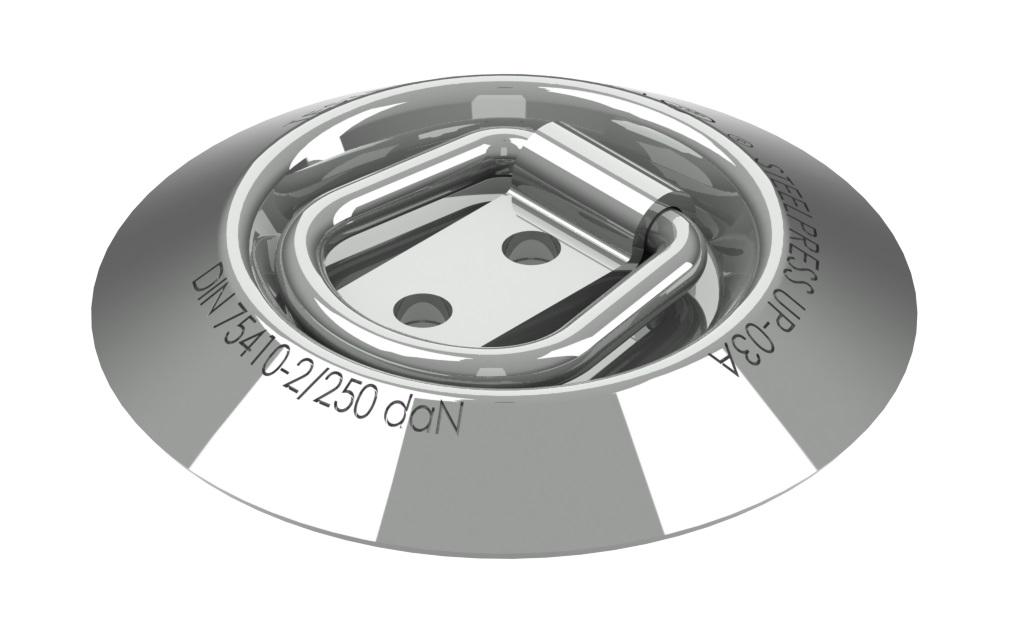 Upínací oko podlahové UP-03A