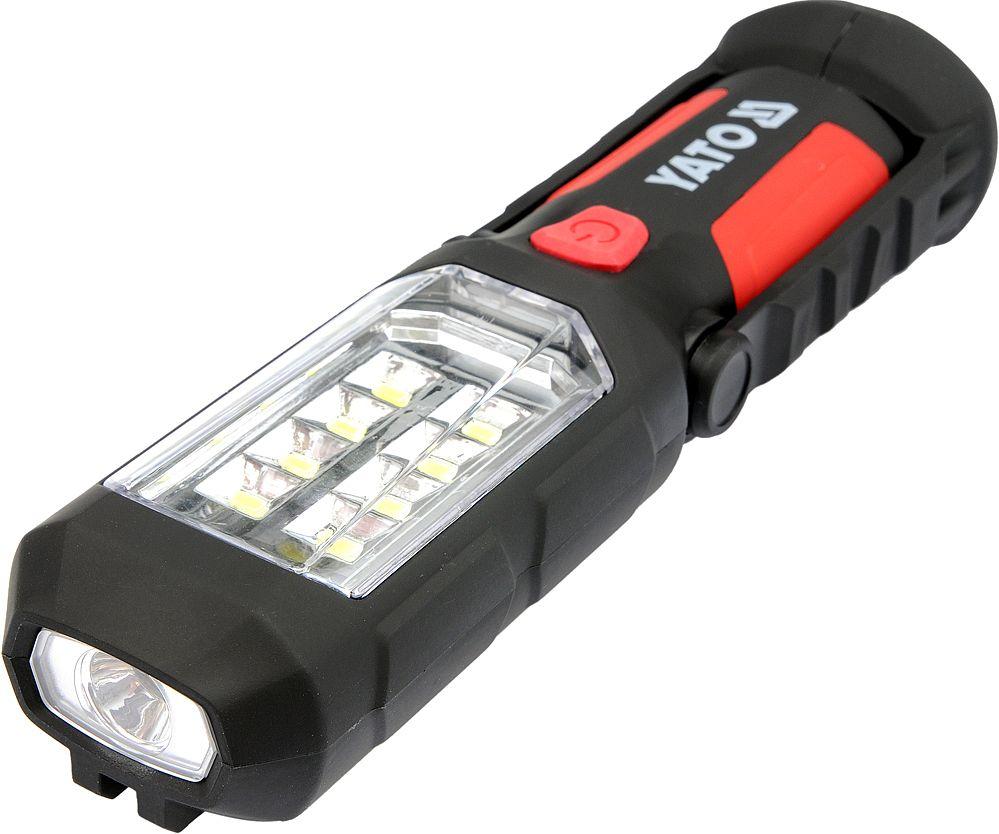 Lampa montážní 8+1 LED, hák+magnet, YATO