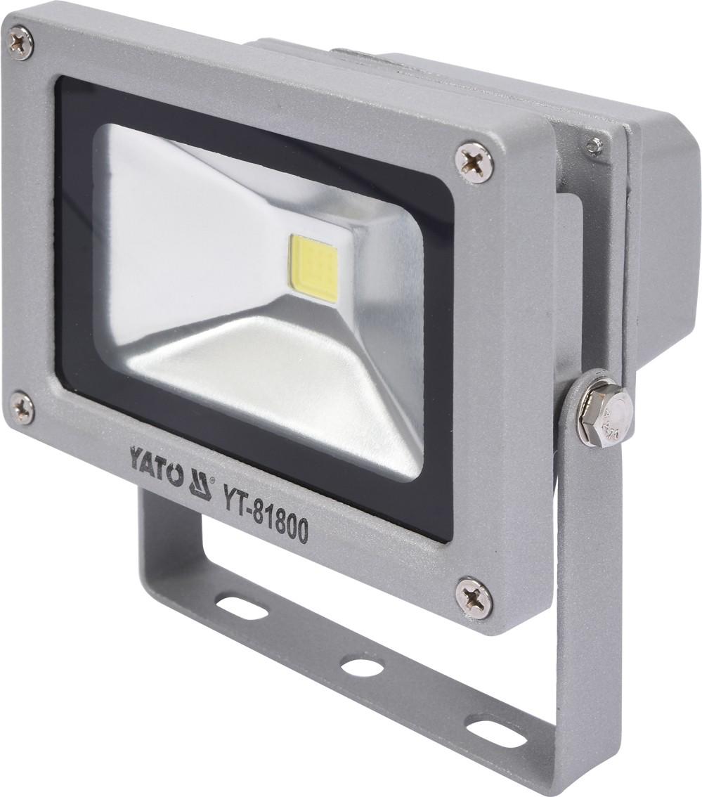 Reflektor s vysoce svítivou COB LED, 10W, 700lm, IP65, YATO