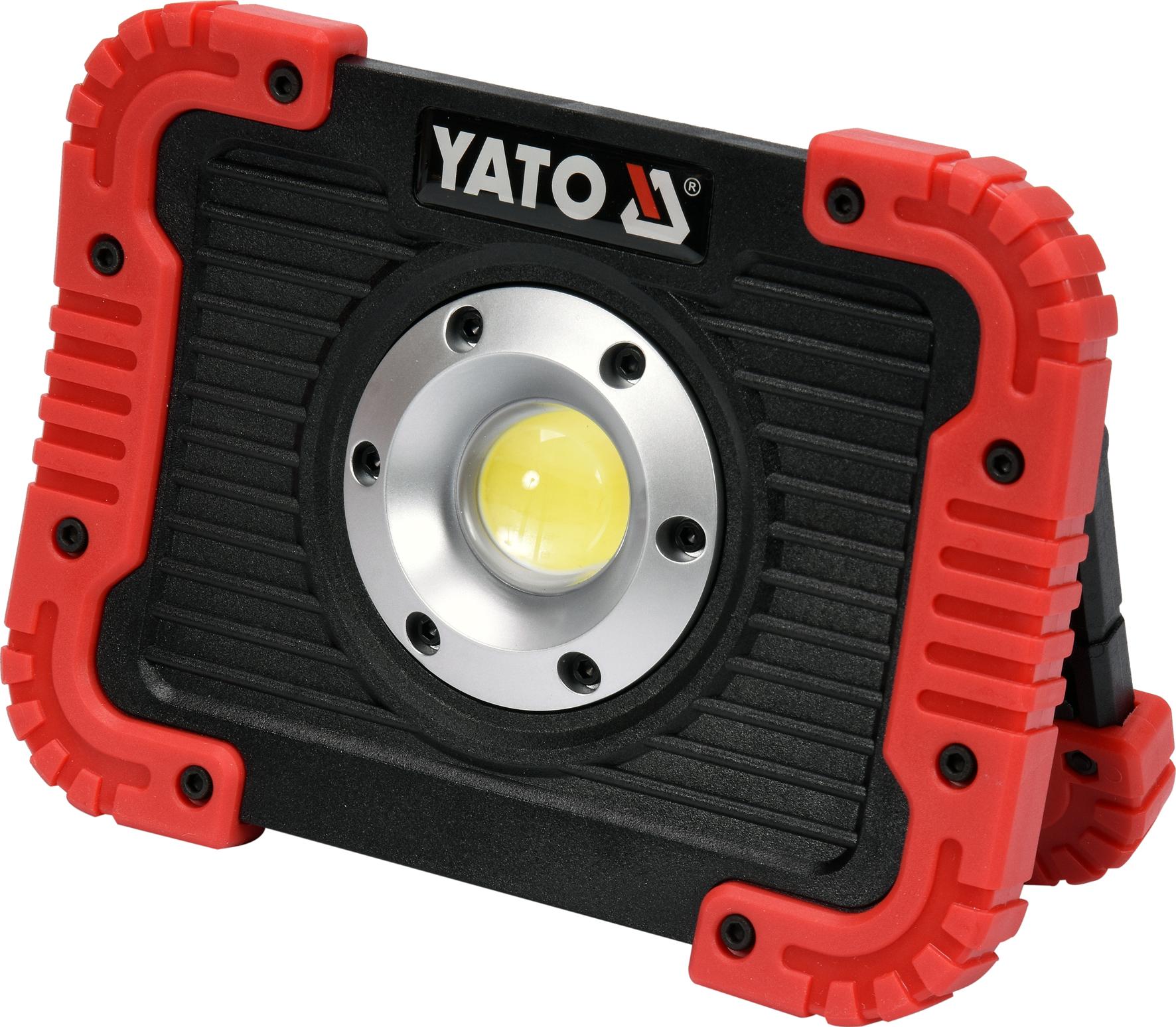 Nabíjecí COB LED 10W svítilna a powerbanka, YATO