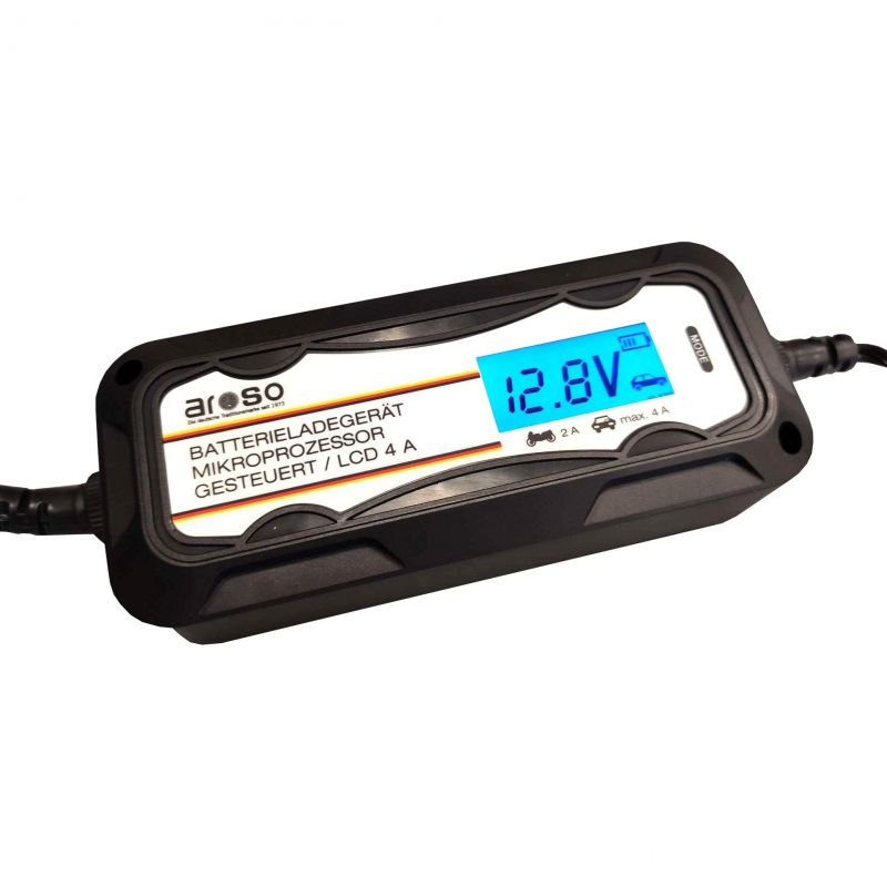 Nabíječka autobaterií s mikroprocesorem PB/GEL 6V/2A 12V/2A/4A, 20.268