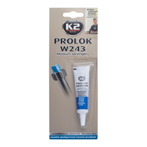 K2 PROLOK MEDIUM TYPE 243 - 6 ml - fixátor šroubových spojů (modrý) , B150