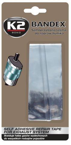 K2 BANDEX 5 x 100 cm - páska na opravu výfuku  B305