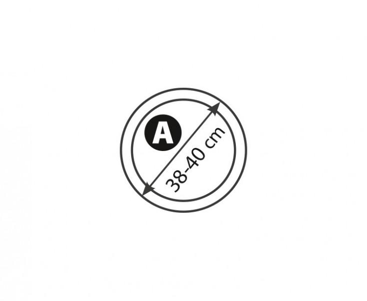 Potah volantu kožený 38-40cm (A), 5-3407-989-4010
