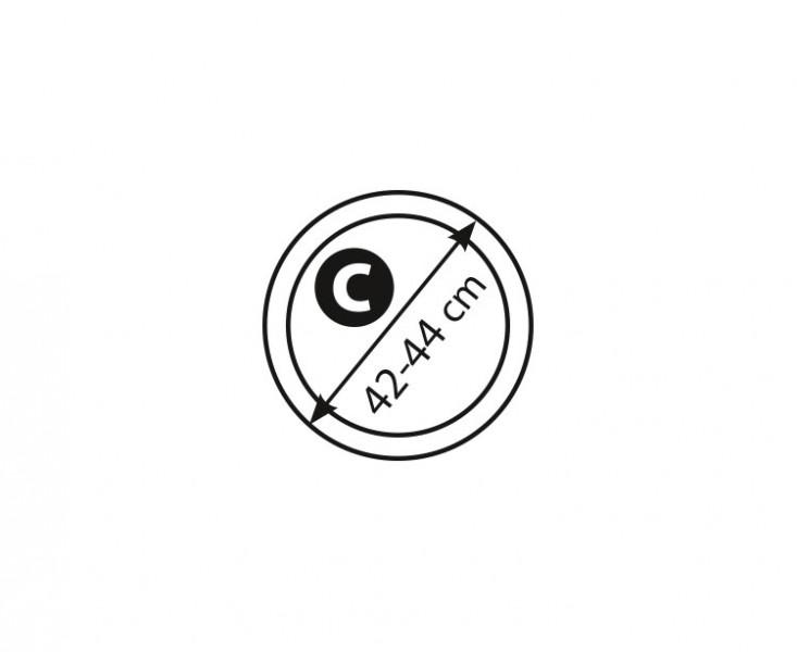 Potah volantu kožený 42-44cm (C), 5-3409-989-4010