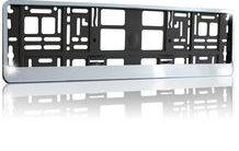 Podložka pod SPZ s odnímatelným panelem chrom po obvodu