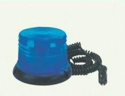 Maják 12V modrý 100 LED 2 funkce, WL 249/2