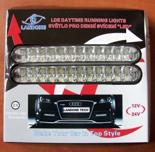 Světlo pro denního svícení DRL 24 LED