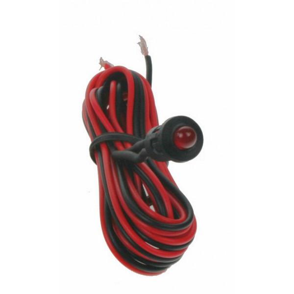 Imitace alarmu červená blikající LED, 0510020