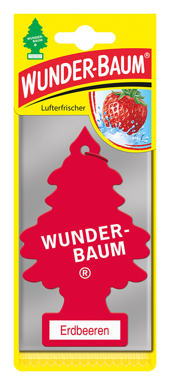 Osvěžovač  WUNDER BAUM - JAHODY