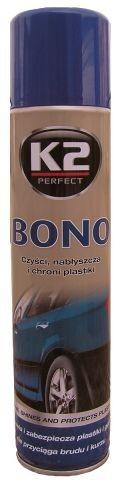 K2 BONO 300 ml - oživovač plastů ve spreji, K150