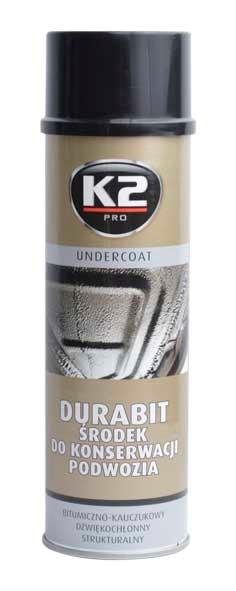 K2 DURABIT 500 ml - ochranný asfaltový nástřik na podvozek , L320