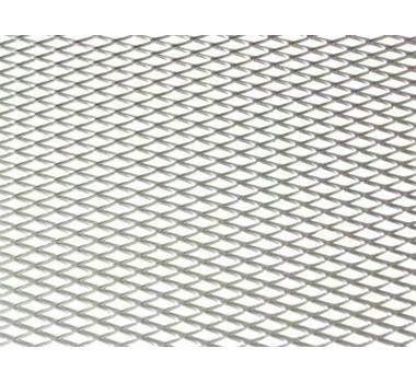 Hliníková mřížka (Tahokov) rozměr 1000x250 mm, AL 08 stříbrný MO