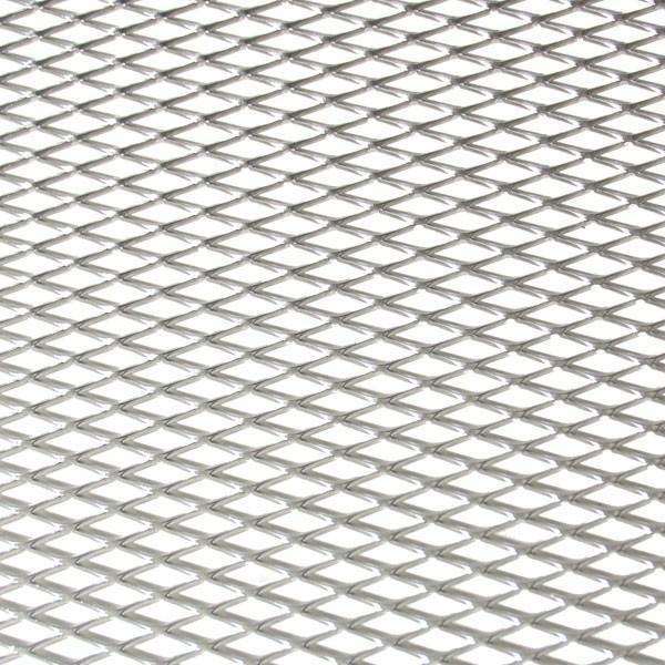 Hliníková mřížka (Tahokov) rozměr 1000x250 mm, AL 08 stříbrný MINI