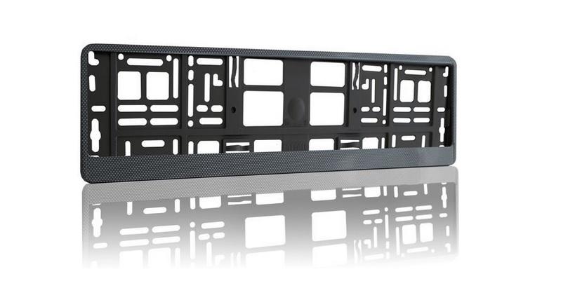 Podložka pod SPZ HP s odnímatelným panelem carbon