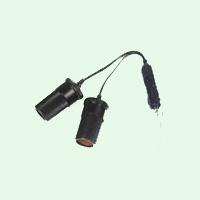 Rozdvojka zapalovače s krátkým kabelem, SPL-017