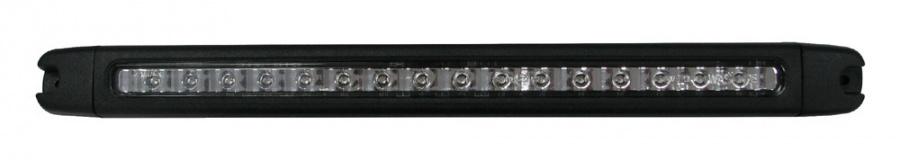 Světlo brzdové LED 12V s bílým sklem W28