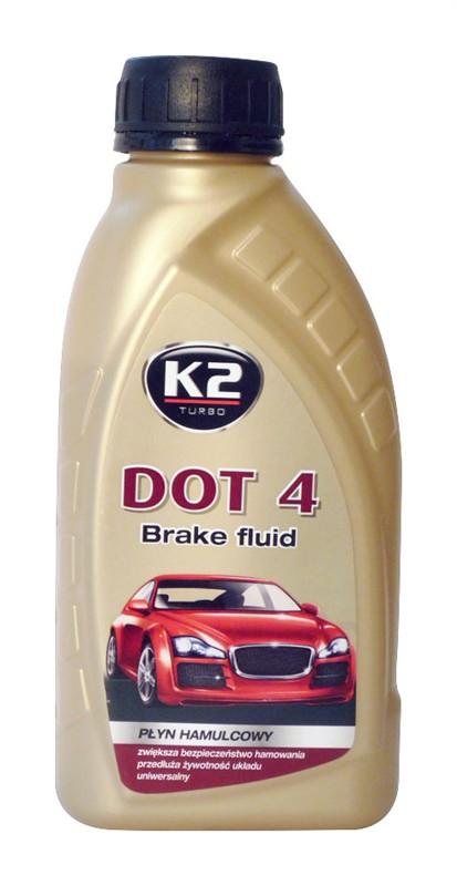 K2 DOT 4 - 500 ml - brzdová kapalina, T104