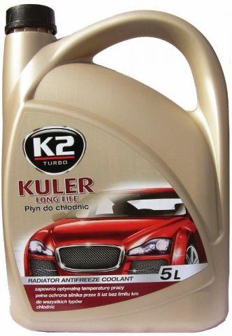 K2 KULER 5 l ZELENÁ - nemrznoucí kapalina do chladiče do -35 °C , T205Z