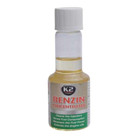 K2 BENZIN 50 ml  aditivum do paliva (obnovuje výkon motoru, snižuje emisní hodnoty) ET3111