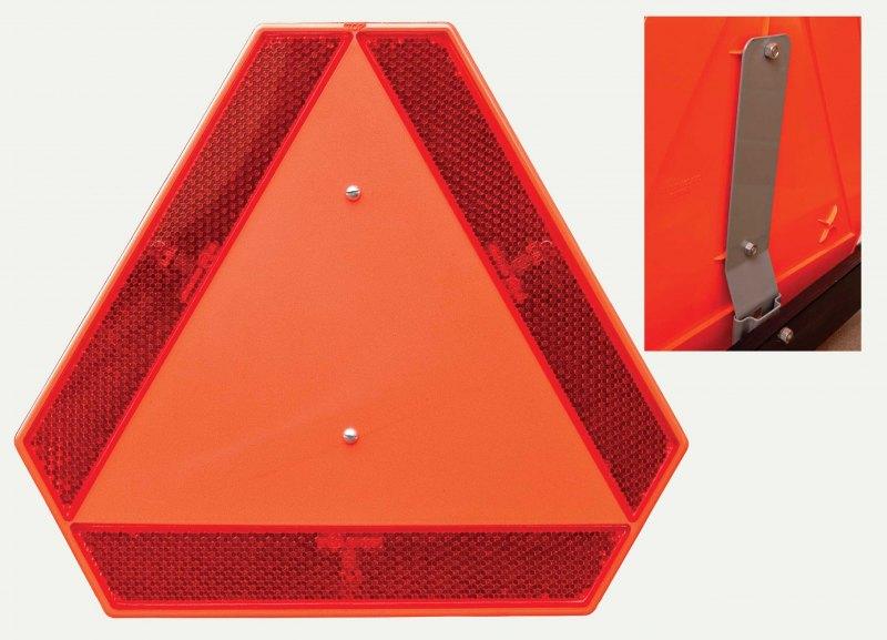 Držák pro reflexní trojúhelník  TW11 -  plech 20cm