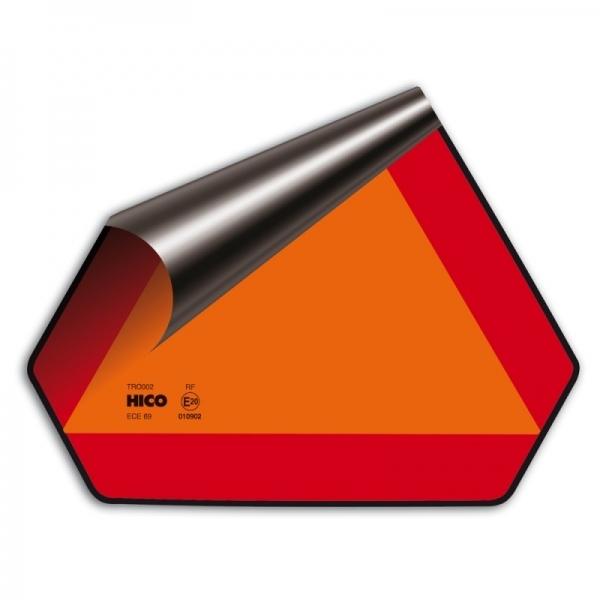 Reflexní trojúhelník pro pomalá vozidla - samolepka, TWY 130