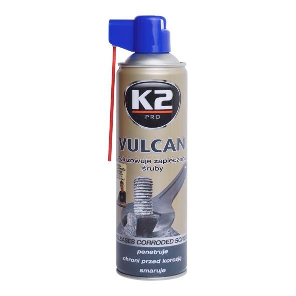K2 VULCAN 500 ml - přípravek na uvolňování zarezlých spojů (MOS2 s Gr, W115
