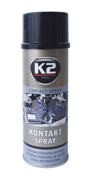 K2 CONTACT SPRAY 400 ml - kontaktní sprej, čistič elektrických částí , W125