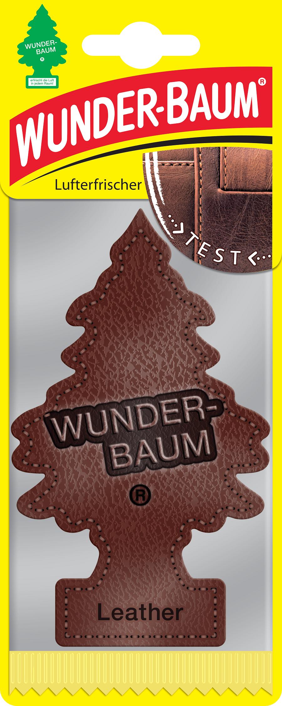 Osvěžovač  WUNDER BAUM - LEATHER KůŽE