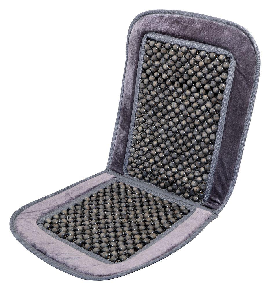 Potah sedadla kuličkový s lemem šedý, 20.576