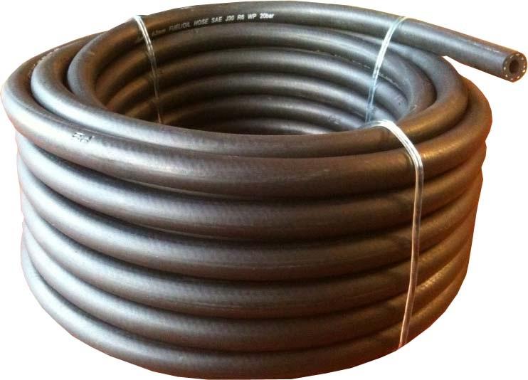 Palivová hadice 4mm gumová 10 barů (role 25m)