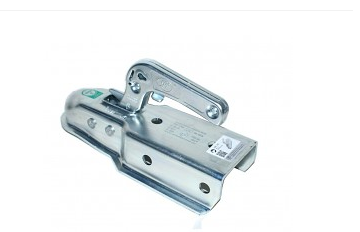 Závěsné zařízení (kloub) 1300kg, prů. 3CALE (77mm) hranatá, 2boční +2horní díry - doprode