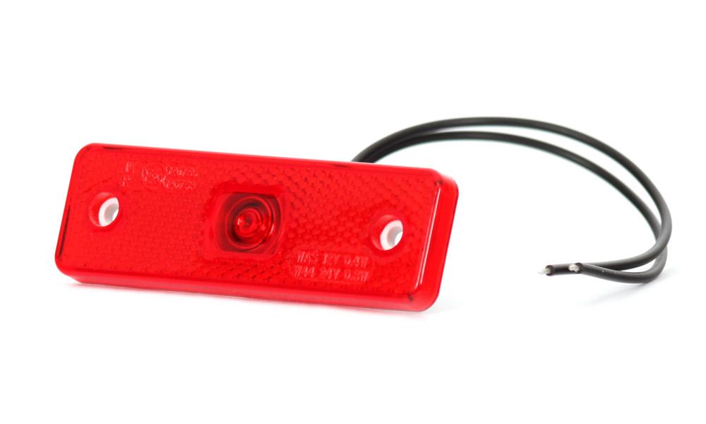 WAS světlo zadní sdružené W44 (218P) červené LED 12V+24V